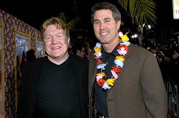 Michael Ewing and Peter Segal at the LA premiere of Columbia's 50 First Dates