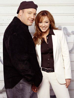 Kevin James and Leah Remini CBS's The King of Queens