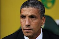 Hughton dismisses claims of Norwich 'turmoil'
