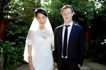 Mark Zuckerberg Weds Longtime Girlfriend, Changes Facebook Status
