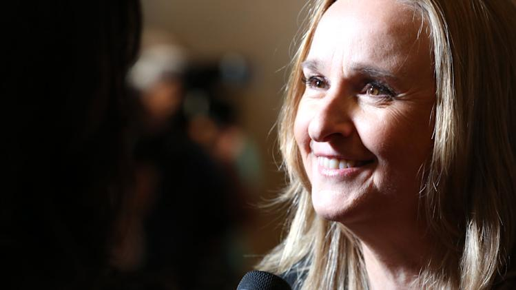 Melissa Etheridge arrives at Sexy Hair Celebrates The Gracies Presented By The Alliance For Women In Media Foundation, on Tuesday, May, 21, 2013 in Beverly Hills, Calif. (Photo by Alexandra Wyman/Invision for Sexy Hair/AP Images)