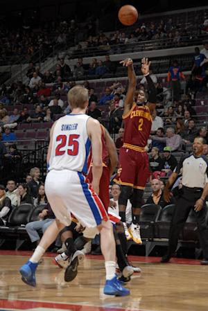 Cavaliers rally past Pistons for 93-89 win