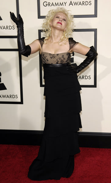 Attending the 2008 Grammy Awards