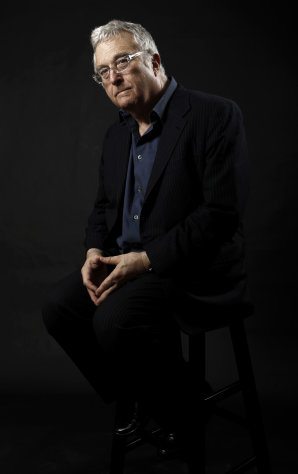 FILE - This Feb. 7, 2011 file photo shows composer-songwriter Randy Newman posing for a portrait after the Academy Award Nominees Luncheon in Beverly Hills, Calif. Newman is weighing in on the presidential election, and he&#39;s playing the race card through a song he wrote. Im Dreaming is full of satirical, sarcastic _ and signature Newman _ anecdotes about someone who votes for the president because he is white. It features the refrain: Im dreaming of a white president. Newman is openly supporting President Barack Obama. He says though the song is serious, he wants the public to find comedic relief in it. (AP Photo/Matt Sayles, File)