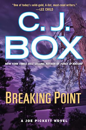 "This publicity photo provided by G.P. Putnam's Sons shows the cover C.J. Box's book, ""Breaking Point."" (AP Photo/G.P. Putnam's Sons)"
