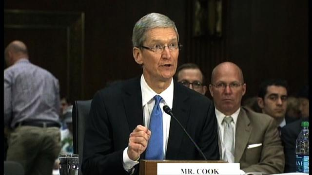 Cook hits back at tax critics, says Apple pays its fair share