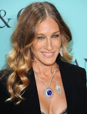 Actress Sarah Jessica Parker attends the Tiffany & Co. Blue Book Ball at Rockefeller Center on Thursday April 18, 2013 in New York. (Photo by Evan Agostini/Invision/AP)
