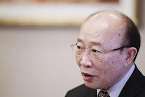 North Korea's ambassador So Se Pyong speaks to …