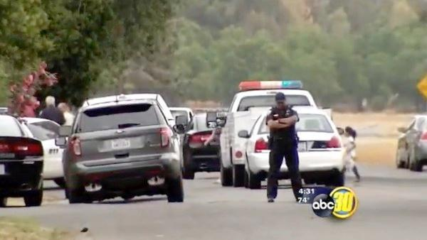 Two officers shot in Visalia, police say