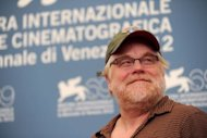 "US actor Philip Seymour Hoffman poses during the photocall of ""The Master"" during the 69th Venice Film Festival at Venice Lido. ""The Master"" is competing for the Golden Lion in the Venezia 69 section of the festival"