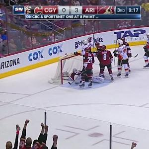Colborne puts Flames on the board