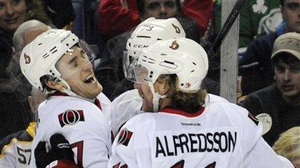 Turris scores 2 in Sens' 4-3 OT win over Sabres