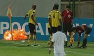 Football Match In Iran Becomes Explosive