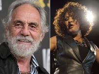 Tommy Chong / Whitney Houston -- Getty Images