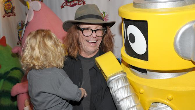 Bob Forrest attends Yo Gabba Gabba! Live!: Get The Sillies Out! 50+ city tour kick-off performance on Thanksgiving weekend at Nokia Theatre L.A. Live on Friday Nov. 23, 2012 in Los Angeles. (Photo by John Shearer/Invision for GabbaCaDabra, LLC./AP Images)