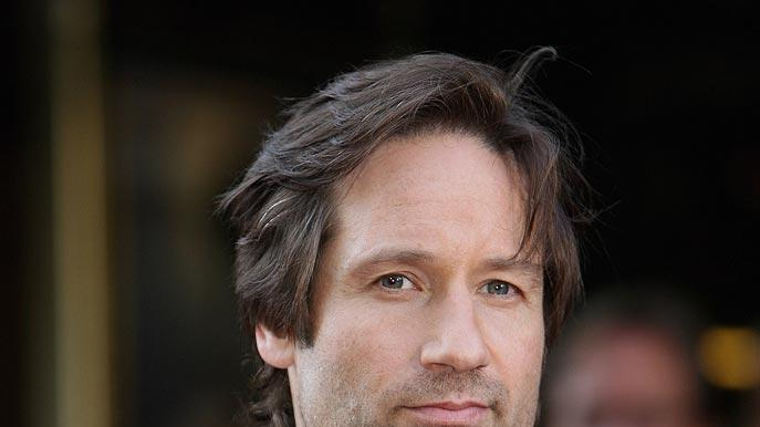 X Files UK Premiere 2008 David Duchovny