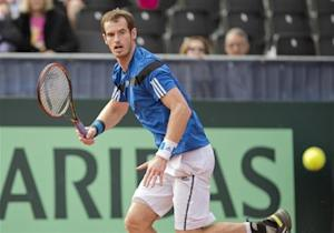 Tennis: Davis Cup-Murray vs Young