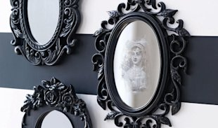 Craft Project: Spooky Halloween Mirror