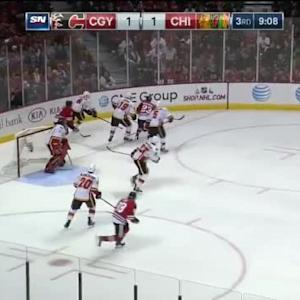 Flames at Blackhawks / Game Highlights