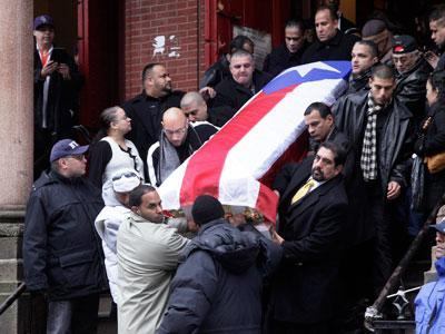 Funeral held in NYC for boxer 'Macho' Camacho