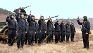 North Korean soldiers attend military drills in this picture released by the North&#39;s official KCNA news agency in Pyongyang March 20, 2013. KCNA said this picture was taken on March 20, 2013. REUTERS/KCNA