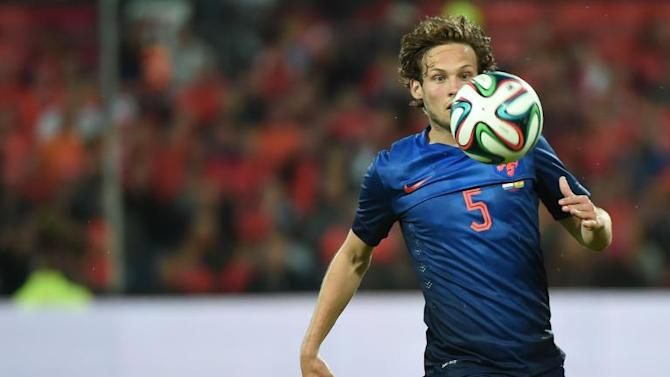 Manchester United sign Netherlands star Daley Blind from Ajax for £14 million