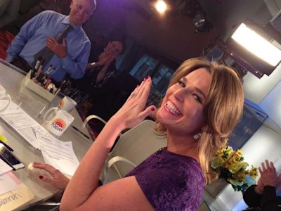 Savannah Guthrie engaged today show