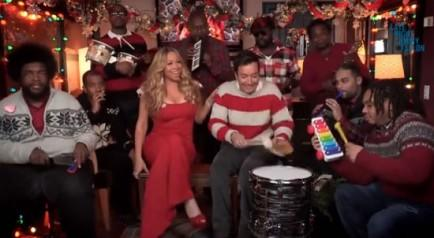 """All I Want For Christmas Is You"" with The Roots and Mariah Carey"