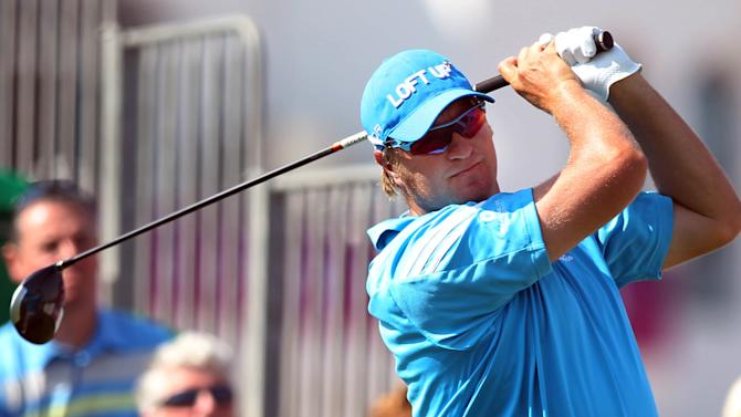 Blayne Barber leads BMW Charity Pro-Am