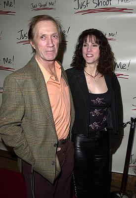 David Carradine and galpal at the LA celebration of the 100th episode of Just Shoot Me - 3/5/2001 Just Shoot Me