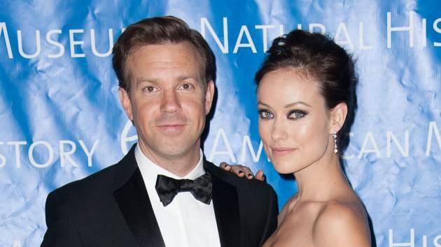 Jason Sudeikis and Olivia Wilde attend The 2012 Museum of Natural History Gala at American Museum of Natural History on November 15, 2012 -- Getty Images