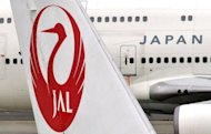 Japan Airlines, which went bankrupt in one of the country's biggest corporate failures, said on Thursday its first quarter net profit more than doubled to 26.9 billion yen ($342.75 million)