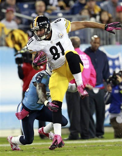 Bironas' FG gives Titans 26-23 win over Steelers