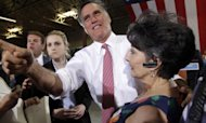Romney 'Honoured' At Chance To Take On Obama