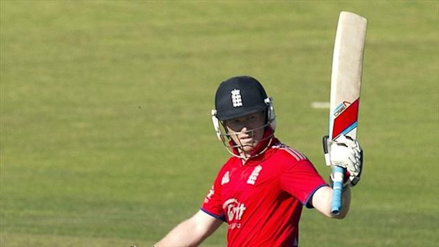 Eoin Morgan has set his sights on winning the World Cup in 2015