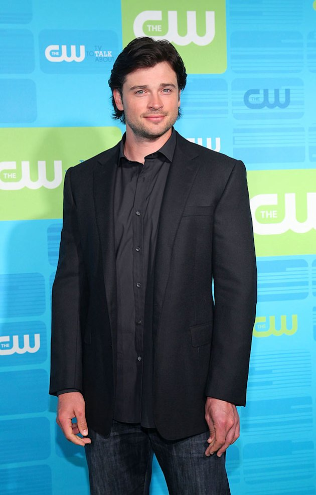 Tom Welling CW Upfront