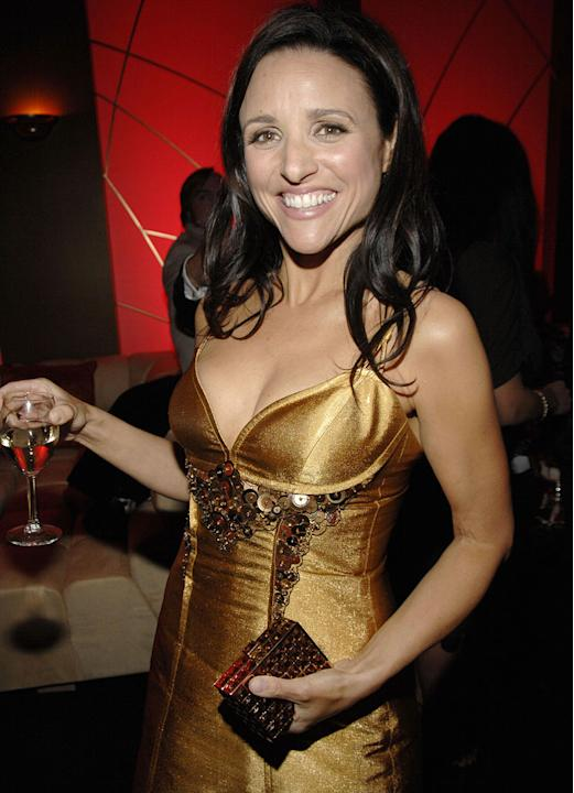 Julia Louis-Dreyfus at the In Style and Warner Bros. 2007 Golden Globe After Party.