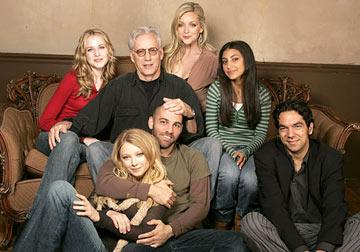 Evan Rachel Wood, James Woods, Jane Krakowski, Adi Schnall (Front Row) Elizabeth Harnois, director Marcos Siega and writer Skander Halim Pretty Persuasion Portraits - 1/22/2005 Sundance Film Festival