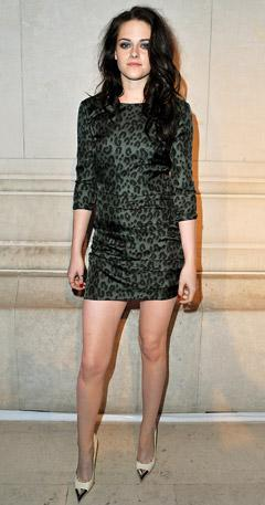 Kristen Stewart Rocks Thigh-High Mini, Super-Sexy Hair and Makeup