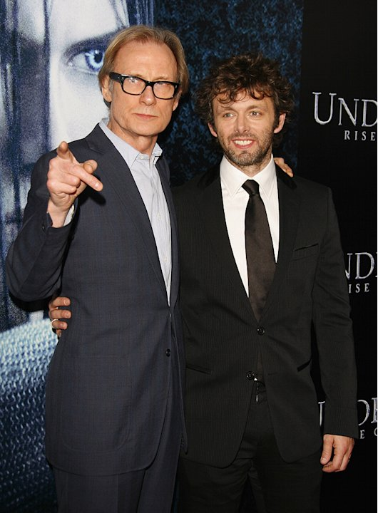 Underworld 3 LA Premiere 2009 Bill Nighy Michael Sheen