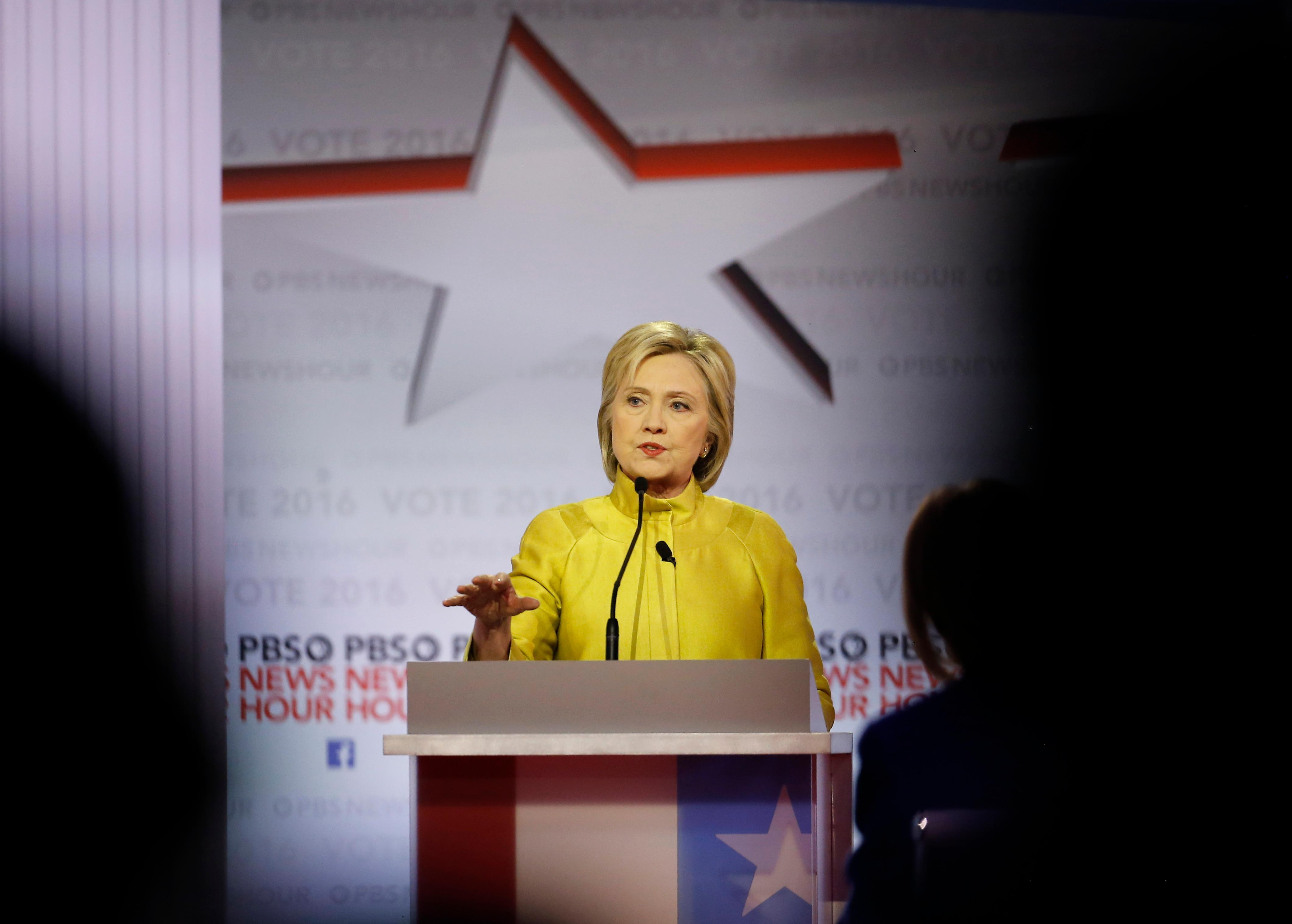 Clinton on migrant kids: 'Those children needed to be processed appropriately'
