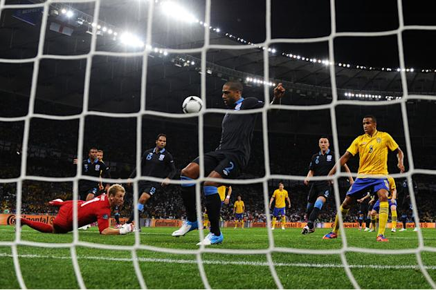 Glen Johnson Of England Scores Getty Images