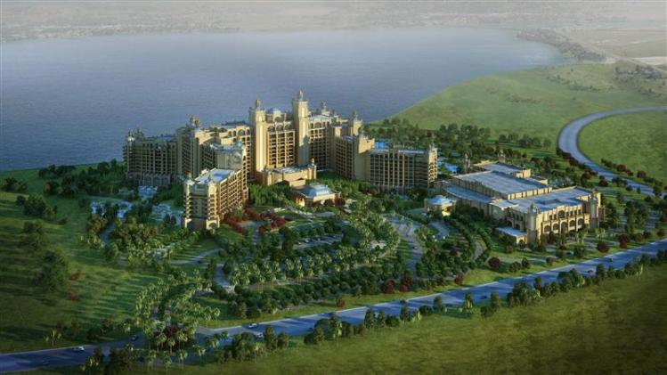 A handout shows an artist impression of Chimelong Hengqin Bay Hotel