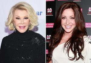 Joan Rivers, Bristol Palin | Photo Credits: Mike Coppola/Getty Images; Charles Eshelman/FilmMagic/Getty Images