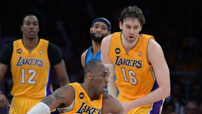 NBA: Dallas Mavericks at Los Angeles Lakers