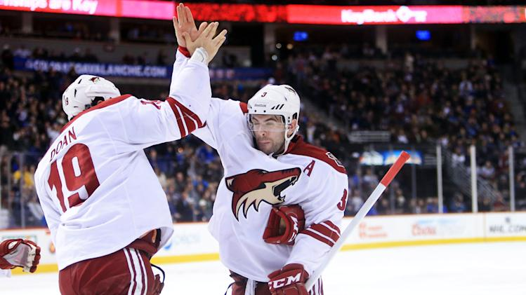 NHL: Phoenix Coyotes at Colorado Avalanche
