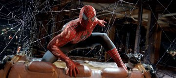 Tobey Maguire as Spider-Man in Columbia Pictures' Spider-Man 3