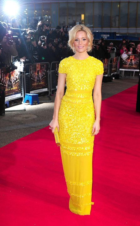 Hunger Games UK premiere photos: Elizabeth Banks.