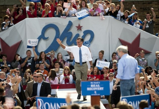 In burst of energy, Romney treating Ohio as must-win state