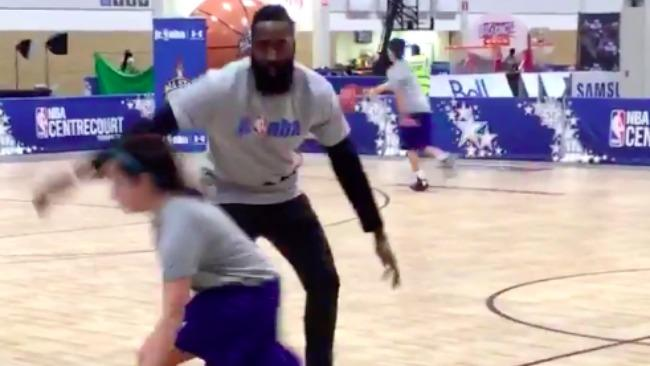 James Harden Defends Small Children About As Well As He Defends NBA Players